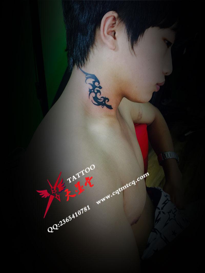 重庆小清新图腾纹身