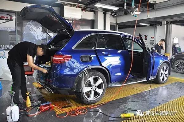 武汉奔驰原厂音响升级