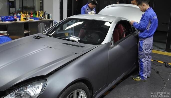 武汉奔驰车衣透明保护膜