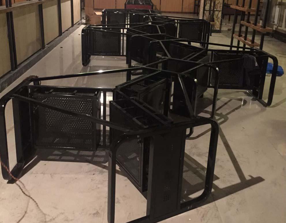 网咖桌椅定制