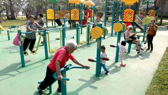 公园健身器材厂