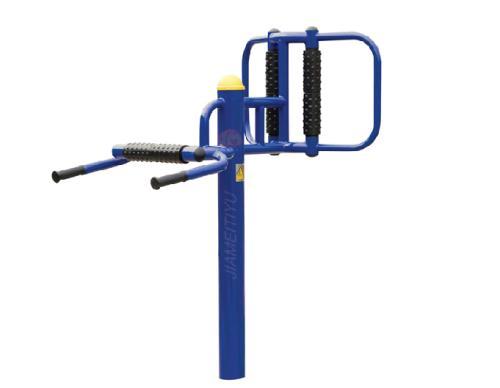 户外健身器材——腰背按摩器