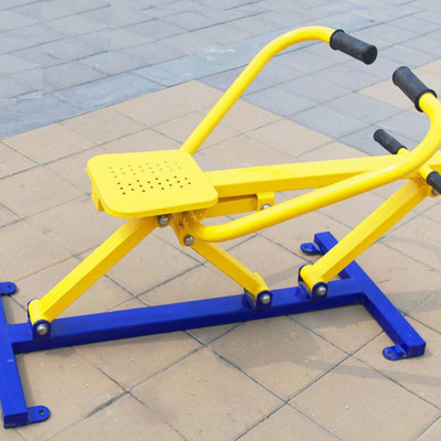 公园健身器材——划船器
