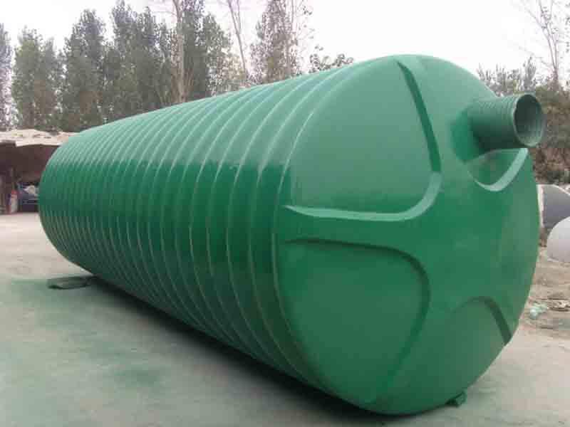 环保玻璃钢化粪池施工