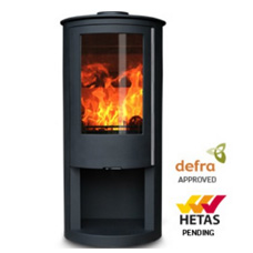 独立式燃木壁炉