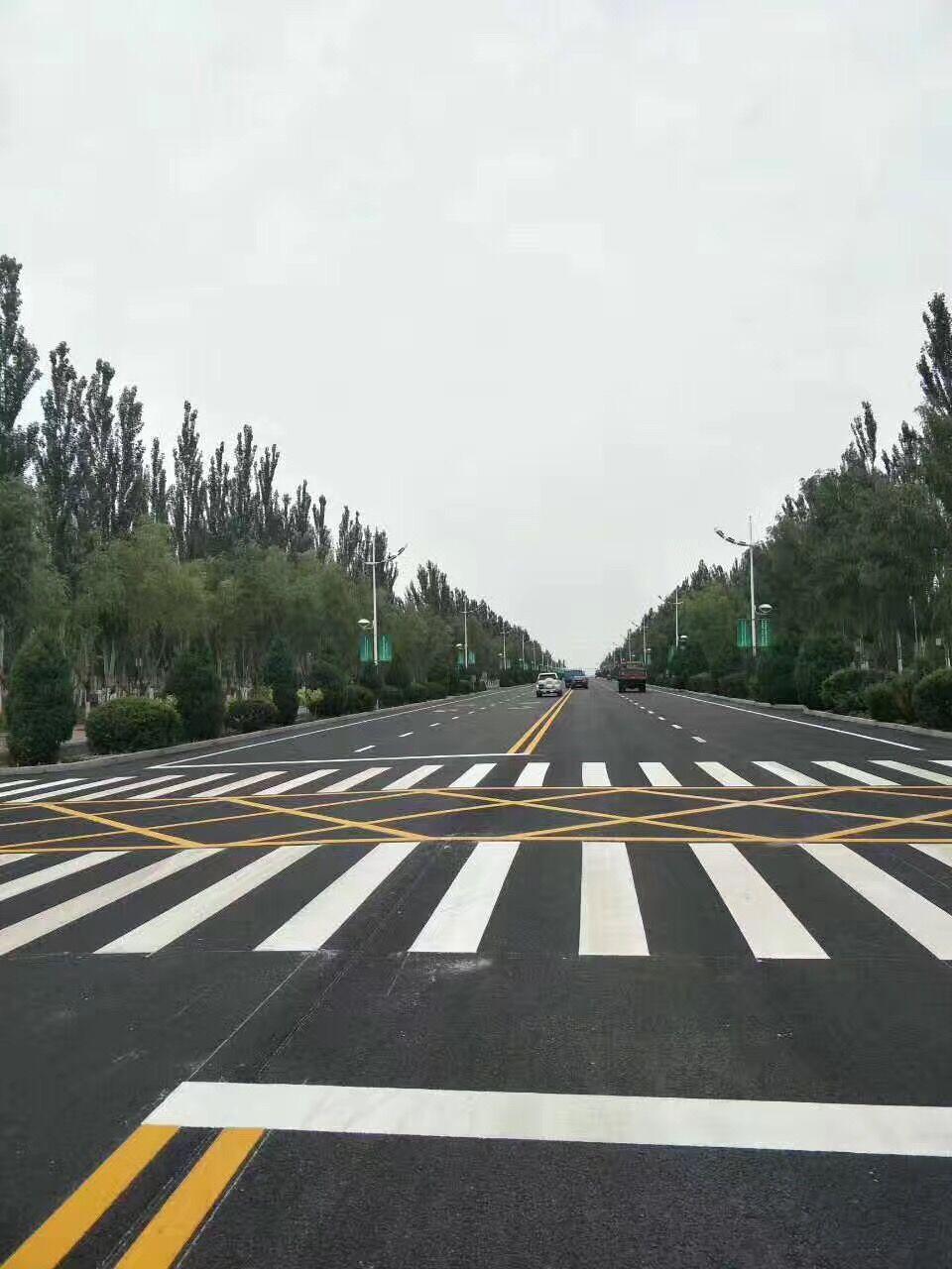 武汉道路划线