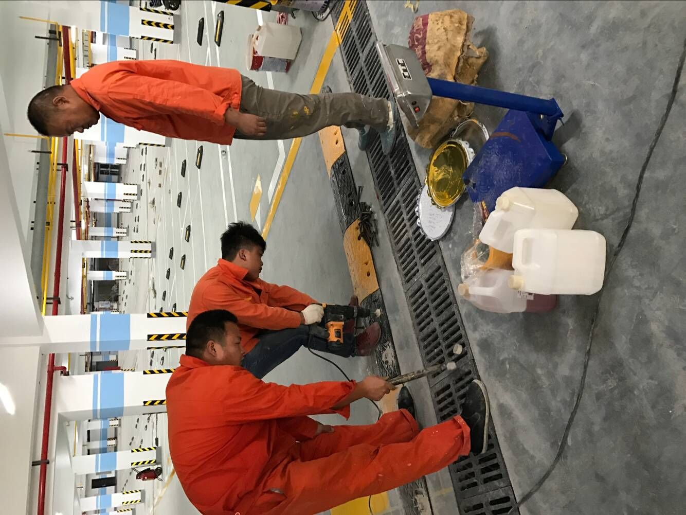 武汉工厂划线
