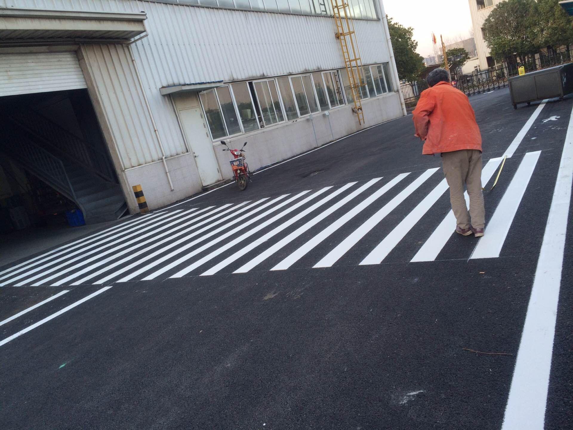 武汉工厂地面划线