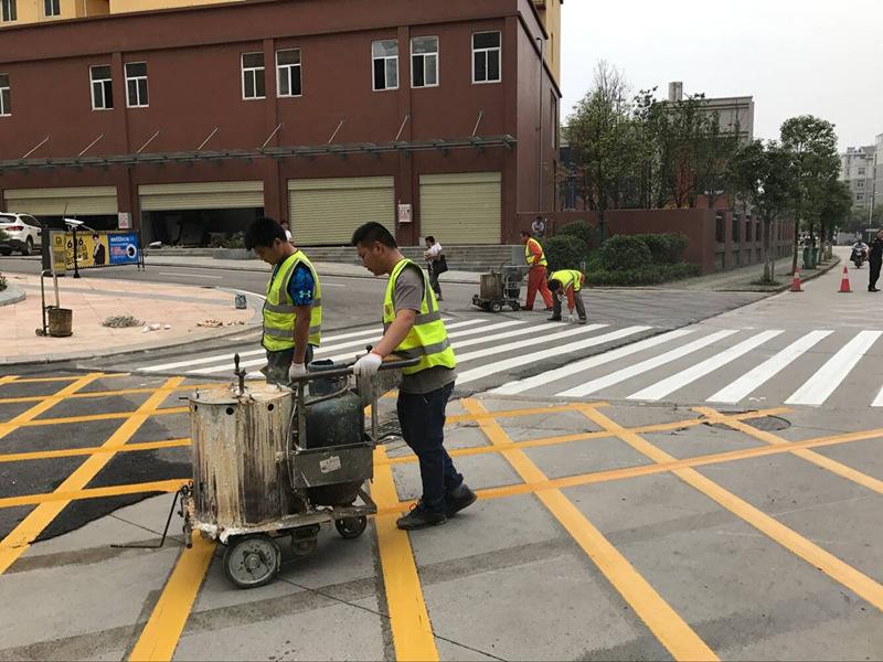 【图文】道路划线厂家详述交通标线的分类_武汉减速标线具体划分为两大类