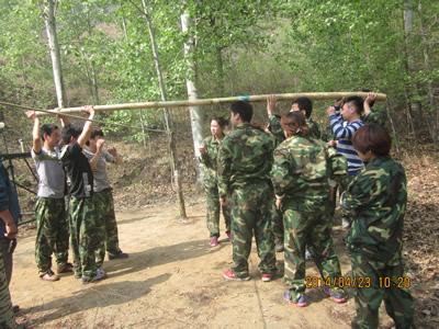 石家庄军事化拓展训练