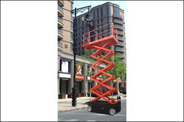 自行走剪叉式升降平台
