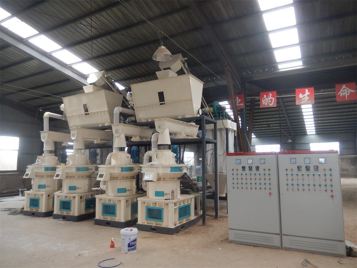 生物质燃料成型设备 秸秆颗粒成型机