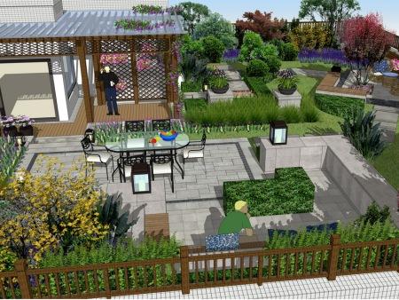港城屋顶花园