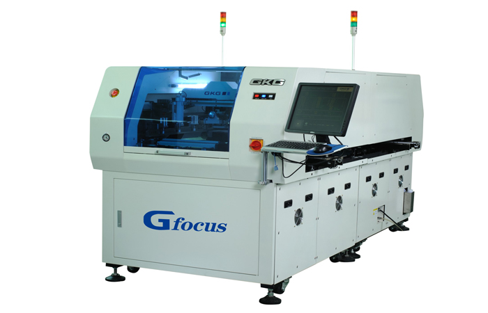 Gfocus三段式双轨锡膏印刷机