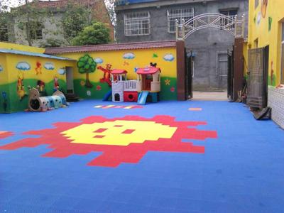 幼儿园拼装地板生产厂家