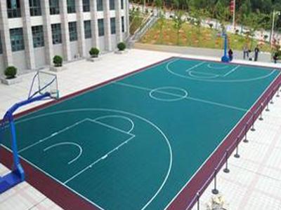 篮球场悬浮地板厂家