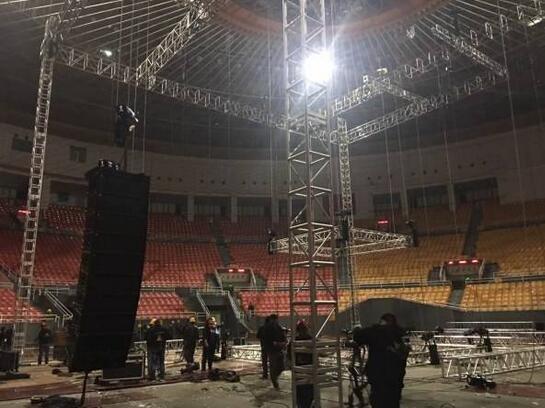 演唱会舞台搭建