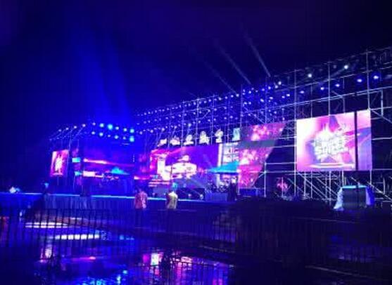 贵州演唱会舞台搭建