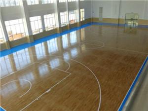 健身房地板施工