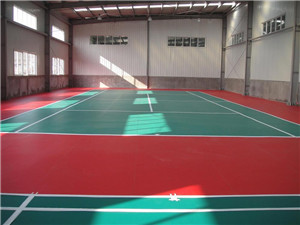乒乓球地面施工