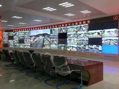 河北监控电视墙