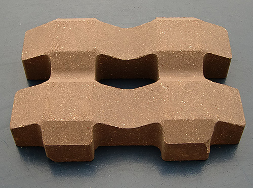 透水陶土砖