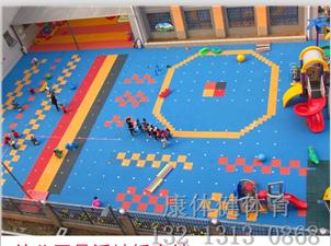 拼接悬浮地板幼儿园