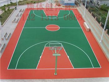 硅pu篮球场地