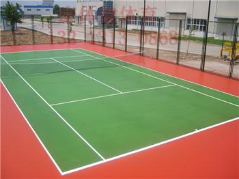 丙烯酸网球场地