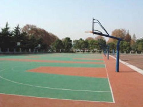 郑州塑胶篮球场