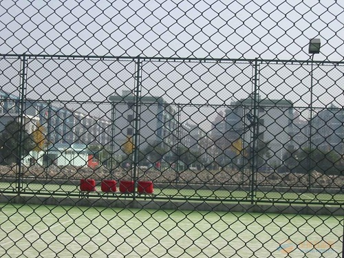 河南体育场围网