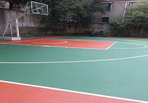 河南塑胶篮球场