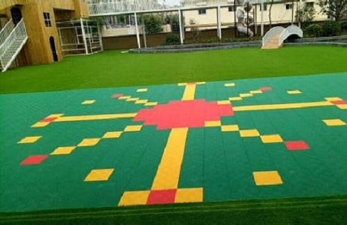 幼儿园悬浮地板