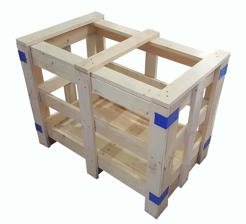 木质花格箱