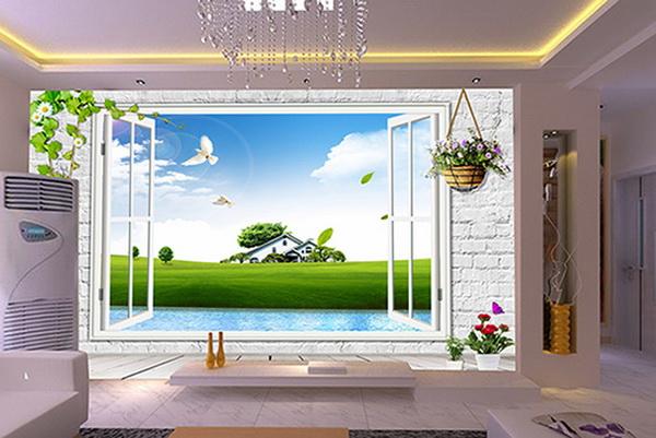 荆州4D背景墙安装