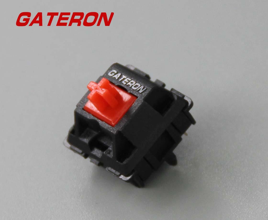 KS-3红轴GATERON佳达隆G轴定制青轴红轴茶轴客制化轴体