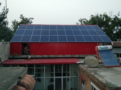 家庭屋顶光伏发电