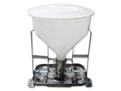 自動干濕飼料器