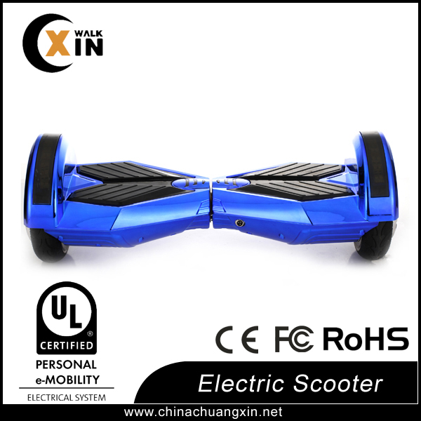 Hover board two wheels self balance electric scooter/blue