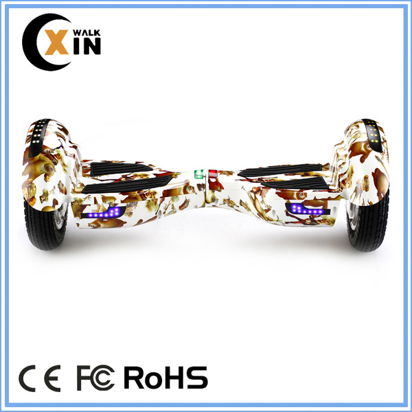 10inch fashion design motion sensor self balance scooter