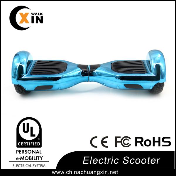 UL electric scooter chrome purple