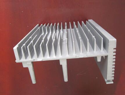 金属管压铸铝片散热器
