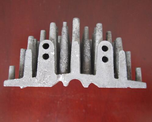 触融压铸坯料制造设备散热器