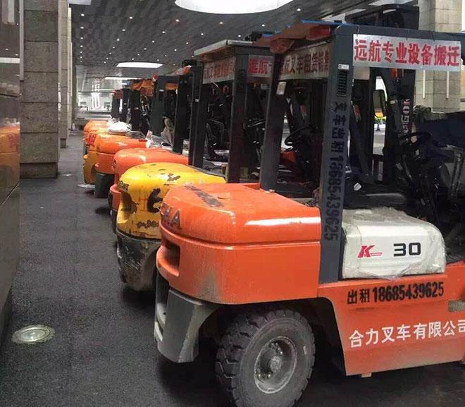 貴州二手叉車市場