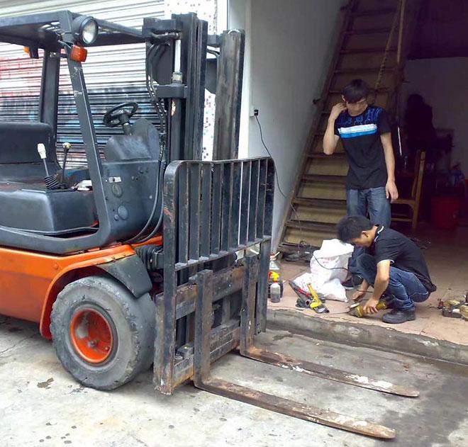 貴州叉車維修公司