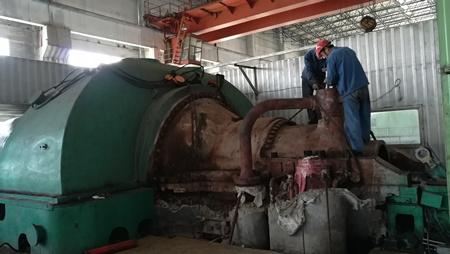 50MW汽轮机检修