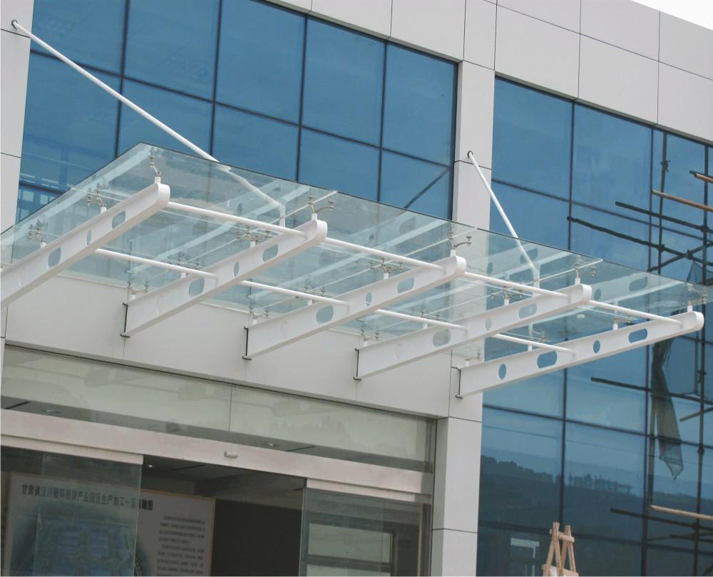 河南玻璃雨棚安装