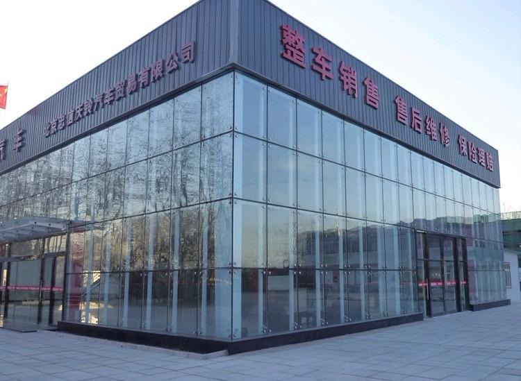 郑州玻璃幕墙施工