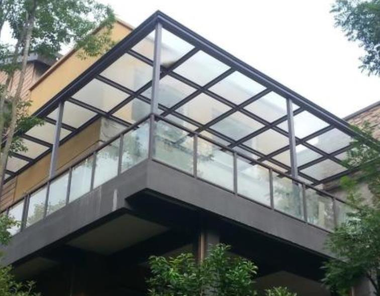 别墅玻璃雨棚