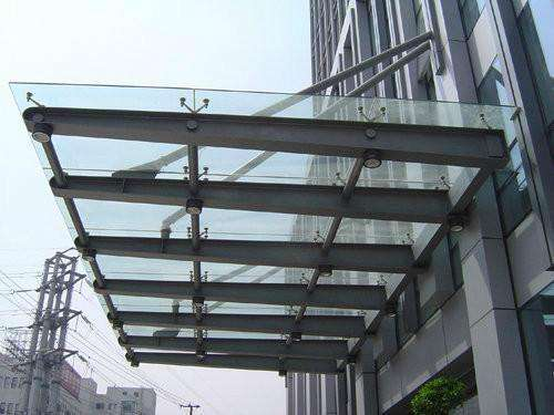 玻璃雨棚材料